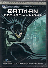 BATMAN GOTHAM KNIGHT (DVD, 2008, 2-Disc Set, Collector's Edition) NEW