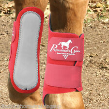 Professional's Choice Competitor Splint Boots Crimson Red Leg Protectection