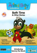 Wild Animal Baby Explorers: Bath Time and Other Stories (Dvd, 2011)w/slipcover