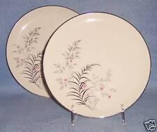 Jeannine PARISIENNE ROYAL JACKSON 2ct LUNCH SALAD PLATE   fine vintage china