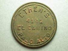 """Palo Alto, CA  Ethen""""s 50¢ In Drinks Token"""