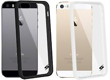AMZER Anti-Scratch Shockproof Bumper Hard Back Case Cover for iPhone 5 SE 5S