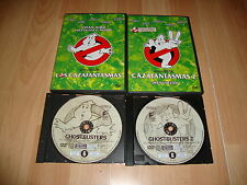 CAZAFANTASMAS 1 Y 2 EDICION ESPECIAL EN DVD CON DOS DISCOS EN MUY BUEN ESTADO