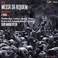 VERDI MESSA DA REQUIEM  IGOR - MARKEVITCH VISCHNEVSKAYA RUSSI [CD]