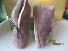 Cozy Suede Ganter Boots/Moccasins of Germany, - US 8 ladies ( 5.5 UK) B-05