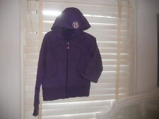 Lululemon Canada ~ Art to Wear ~ Purple Scuba Hoodie ~ 6