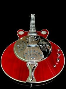 NEW COZART 6 STRING RESONATOR SLIDE ACOUSTIC ELECTRIC BLUES GUITAR SPIDER CONE