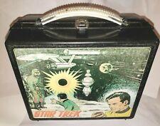 *RARE* 1978 VINTAGE Aladdin Star Trek Lunchbox & RARE Thermal Bottle