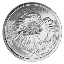 """Canada quarter 25 cents coin, 100th Anniversary of """" In Flanders Fields"""", 2015"""