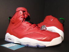 Nike Air Jordan VI 6 Retro SPIZIKE TORO RED GREEN BLACK WHITE 694091-625 10.5