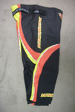 New! Mission Matrix Roller Hockey Pants Junior Large $89 Black/Red/Yellow