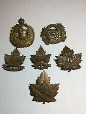 Wwi Canadian Cef Battalion Cap Badge Insignias 22 47 82 217 Strathcona