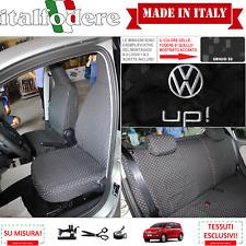 FODERE COPRISEDILI VW Volkswagen UP Con LOGHI! Fodera Foderine Complete Grigio33
