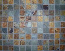 1,02 Qm 54,50u20ac/qm Schiefer Mosaik Fliesen Schieferfliese Netz Mosaikfliese  Stein