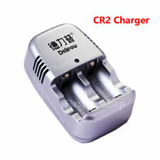 CR2 Dual Batteries Charger 3V For CR2 CR-2 15270 Lithium Rechargeable Battery
