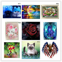 NEW Full Drill DIY 5D Diamond Painting Embroidery Cross Craft Stitch 5tw