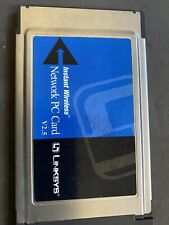 Linksys wireless network Pc Card, model Wpc11 V2.5 ( untested)