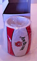 JIM BEAM STUBBY CAN HOLDER , NEW IN BOX