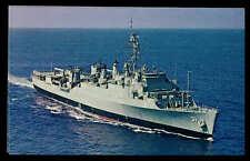 USS Point Defiance LSD-31 postcard landing ship dock US Navy