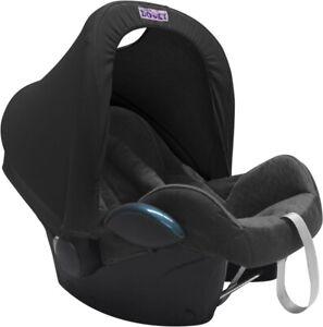 Dooky Hoody Sonnenschutz für Babyschale schwarz
