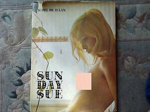 KARL DE HAAN - SUNDAY SUE (Artistic photographic erotica, 1969, 1st Ed, H/B)