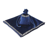 Blue Sparkle Pattern Altar Tarot Bag Table Cloth Divination Wicca Tapestry