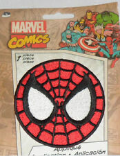 """MARVEL COMICS SPIDERMAN Logo Embroidered iron on Patch 3"""" NEW"""