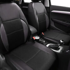 Universal Two Front Car Seat Covers PU Leather New Breathable FIT CAR TRUCK SUV
