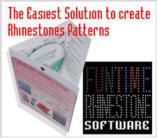 BRAND NEW FUNTIME Rhinestone TEMPLATE MAKING Software SILHOUETTE CAMEO CRAFTROBO