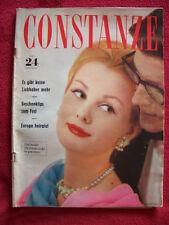 Zeitschrift    Constanze   Heft 24  22. Novenber 1960