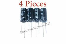 4 pcs Capacitor Rubycon 820uF 25v 105C 10x20mm. Radial. US Seller