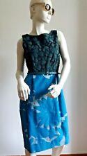 🚩LAST SALE#  MAX MARA Silk&Cotton Dress ,size 16 USA_18 GB_46 D_50 I_ 48 F