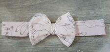 Next Baby Girl Bunny Print Bow Headband 6-9 Months