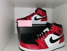 Air jordan 1 mid chicago toe Nike