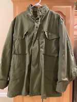 Vintage 80s US Military Field Jacket Size Medium Regular