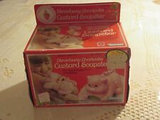 1981 KENNER STRAWBERRY SHORTCAKE CUSTARD SOAPSTER NEW IN OPENED BOX