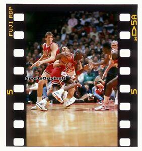 MICHAEL JORDAN - CHICAGO BULLS  - Original 35mm Color Slide