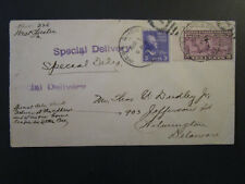 United States 1939 Special Delivery Cover  - Z4438