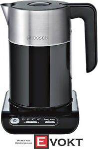 Bosch TWK8613P Styline Kettle 2400 W Overheating Protection 1.5 Liters Genuine