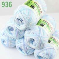 6Skeins X 50g Baby Natural Smooth Soft Bamboo Cotton Knitting Yarn Knitwear 36