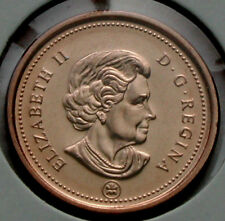 2009 CANADA Coin One Cent BU UNC red - (raised metal on G of REGINA) die variety