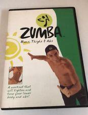 ZUMBA - Buns, Thighs &  Abs (DVD) Very Good
