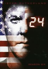 24: Season 6 [7 Discs] (2009, REGION 1 DVD New) WS