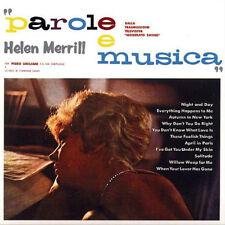 Helen Merrill - Parole e Musica  - SEALED NEW! w/ Piero Umiliani Orch