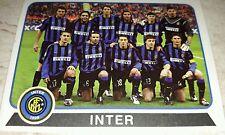 FIGURINA CALCIATORI PANINI 2003-04 INTER SQUADRA ALBUM 2004