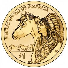 2012 P&D Native American Indian Sacagawea One Dollar Coins US Mint Rolls Money