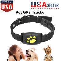 Smartphone GPS For Dog Cat Pet Finder Tracker GSM Locator Collar Tracking Alarm~