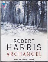 Archangel Robert Harris 4 Cassette Audio Book Thriller Anton Lessing FASTPOST