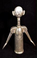 Sommelier Aldo Colombo Figural Silver Plate CorkScrew Pierre the Waiter