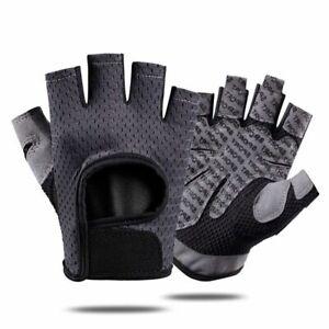 Cycling Gloves Half-finger Non-slip Shock Absorption Breathable Equipment Nylon